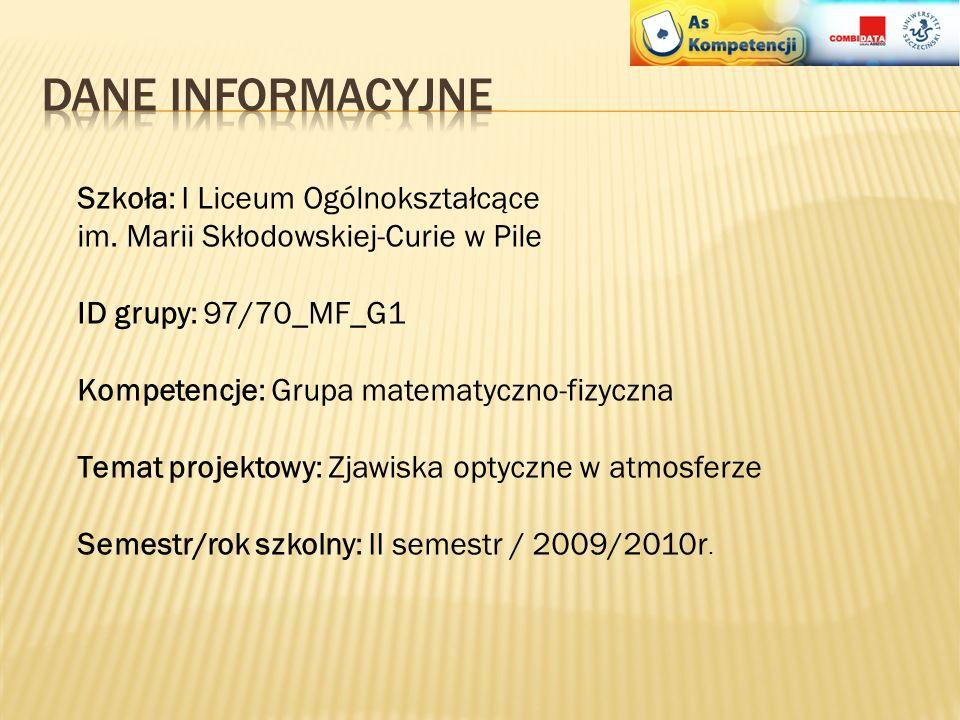 Projekt realizowany przez Uniwersytet Szczeciński w partnerstwie z Combidata Poland sp. z o.o. w ramach Programu Operacyjnego Kapitał Ludzki, Prioryte