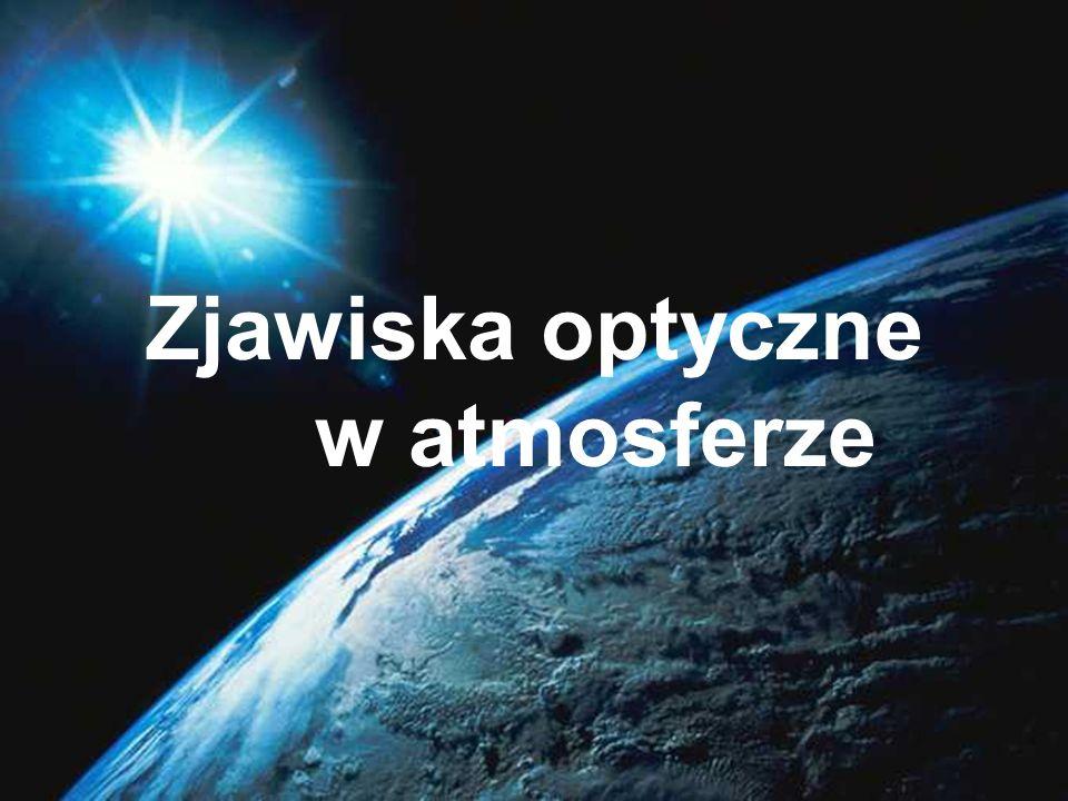 Zjawiska optyczne w atmosferze