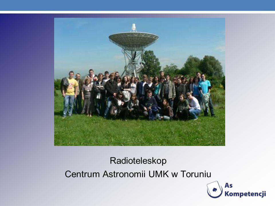 Radioteleskop Centrum Astronomii UMK w Toruniu