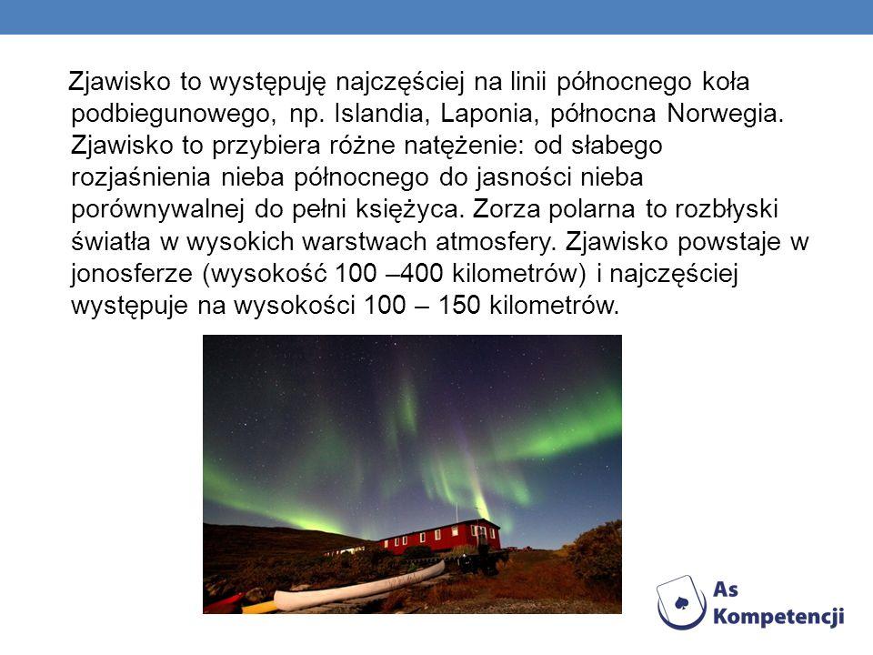 Zjawisko to występuję najczęściej na linii północnego koła podbiegunowego, np. Islandia, Laponia, północna Norwegia. Zjawisko to przybiera różne natęż