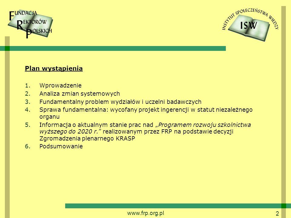 13 Stanowisko Prokuratora Generalnego z dnia 18 września 2013 w związku z wnioskiem RPO o stwierdzenie niezgodności wybranych przepisów ustawy PSW z Konstytucją RP artykuł 94 ust.