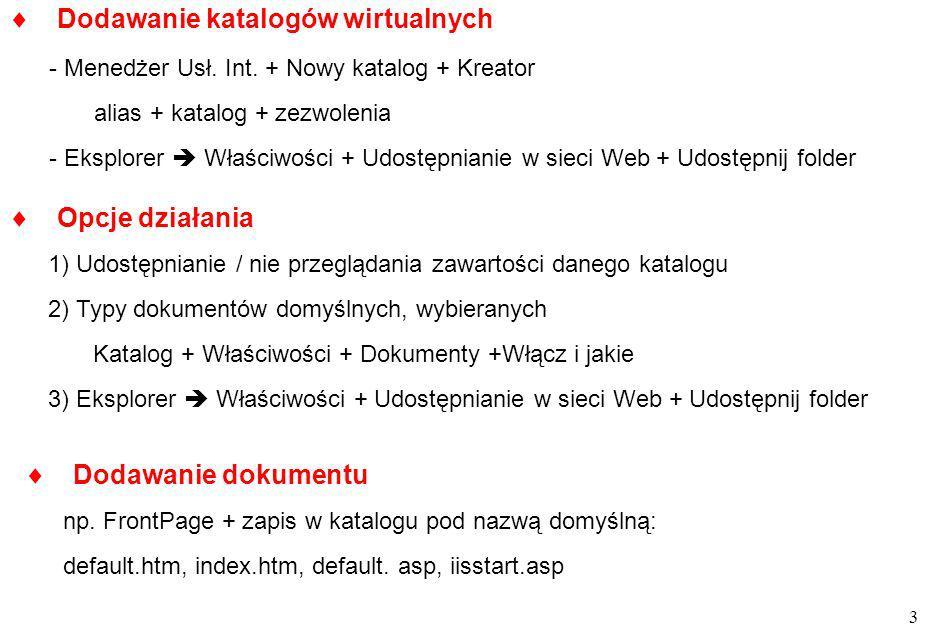 14 S.Wolek Wst. do Inf. iteracje warunkowe do while warunek...