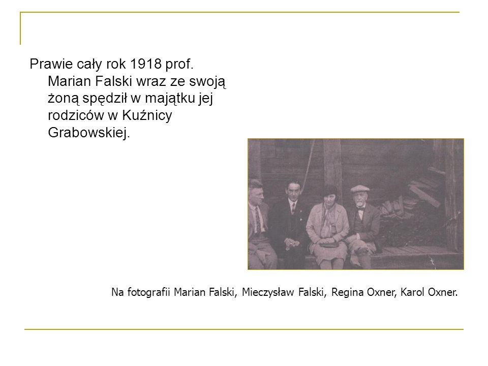 Prawie cały rok 1918 prof.