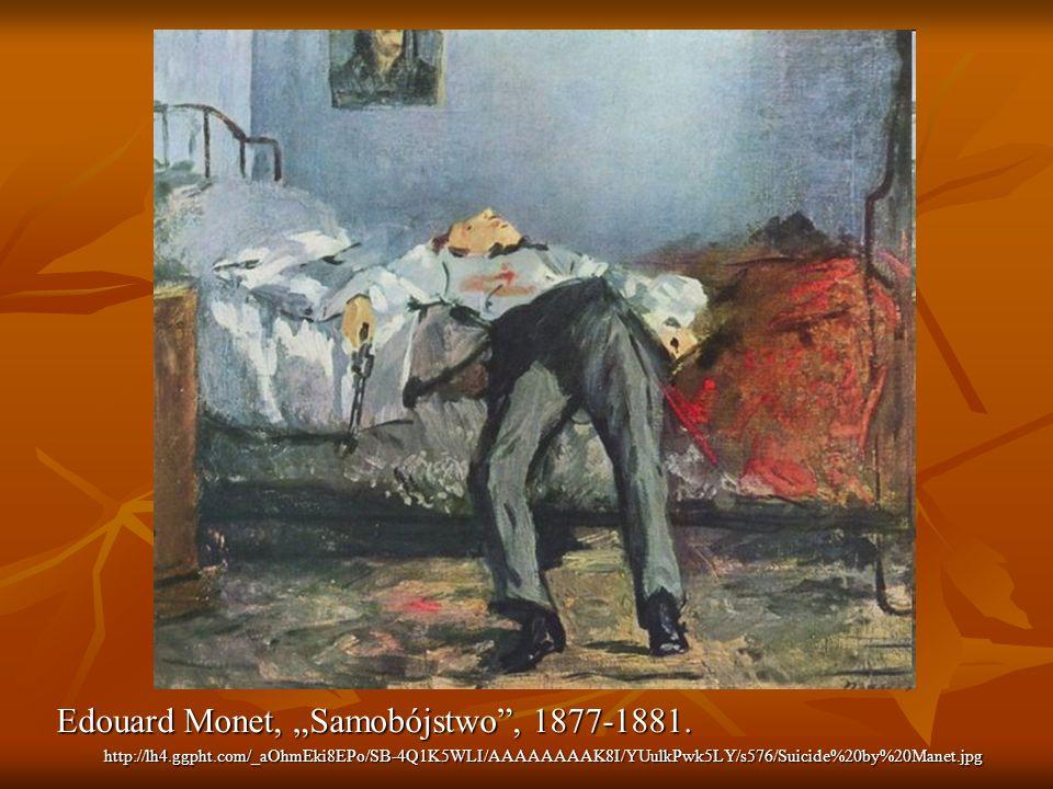 Edouard Monet, Samobójstwo, 1877-1881. http://lh4.ggpht.com/_aOhmEki8EPo/SB-4Q1K5WLI/AAAAAAAAK8I/YUulkPwk5LY/s576/Suicide%20by%20Manet.jpg