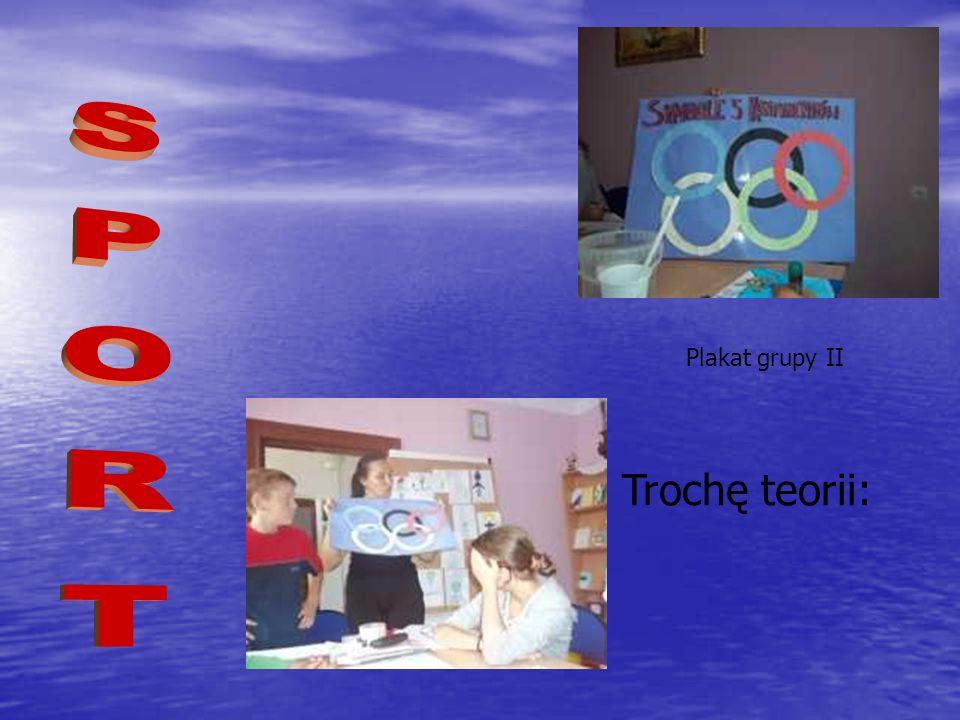 Trochę teorii: Plakat grupy II