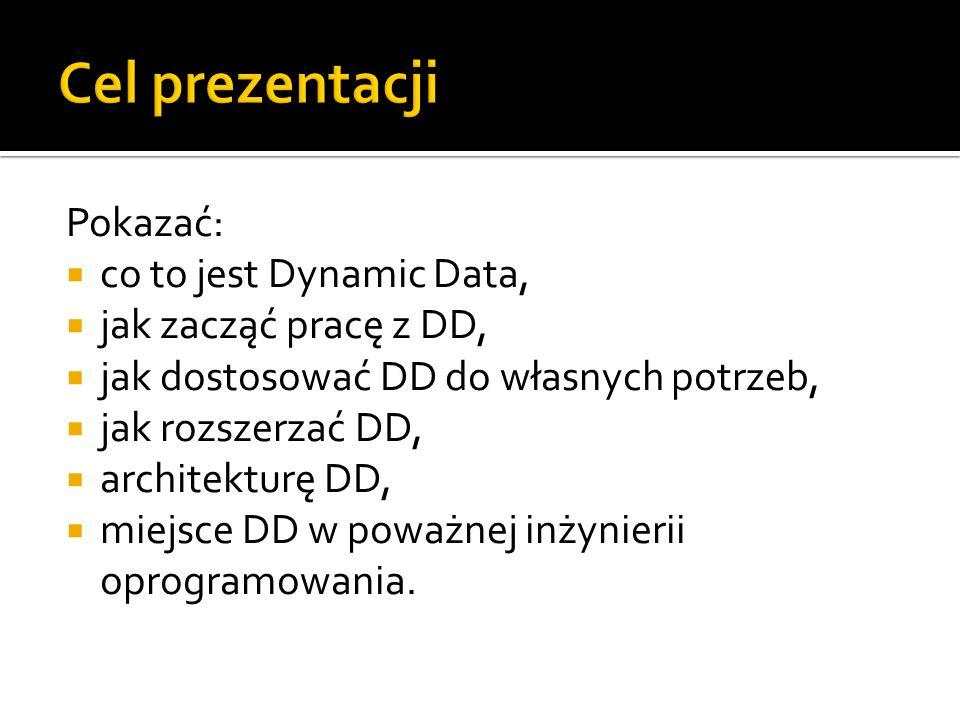 Czym jest ASP.NET Dynamic Data? Pierwsza dynamiczna aplikacja.