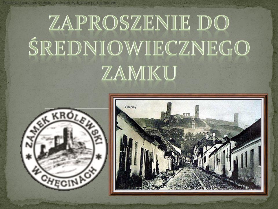 Przedwojenna poczt ó wka - uliczka żydowska pod zamkiem