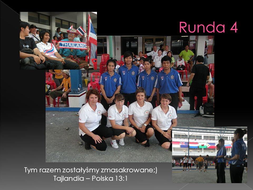 Tym razem zostałyśmy zmasakrowane;) Tajlandia – Polska 13:1