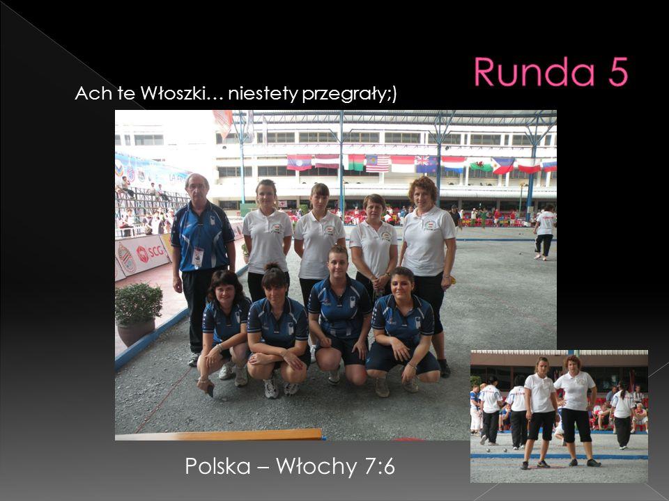 Ach te Włoszki… niestety przegrały;) Polska – Włochy 7:6