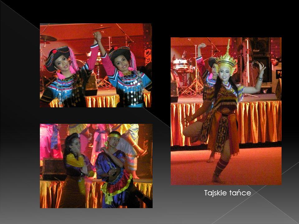 Tajskie tańce