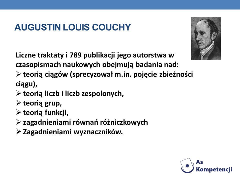 Liczne traktaty i 789 publikacji jego autorstwa w czasopismach naukowych obejmują badania nad: teorią ciągów (sprecyzował m.in. pojęcie zbieżności cią