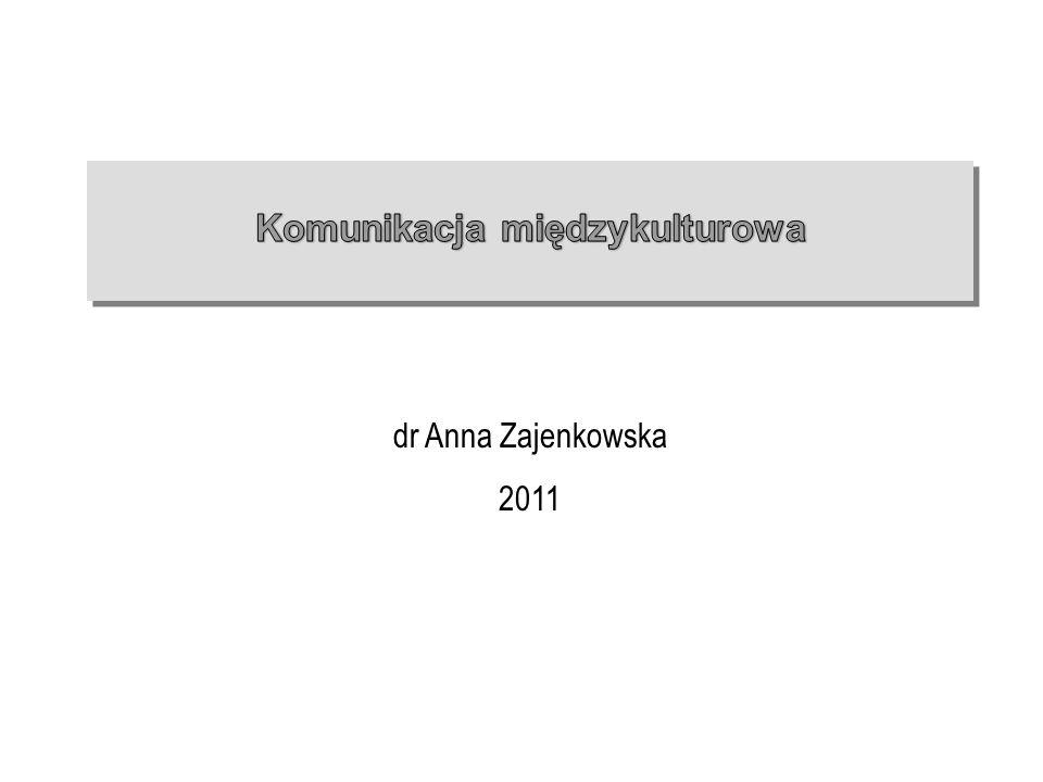 dr Anna Zajenkowska 2011