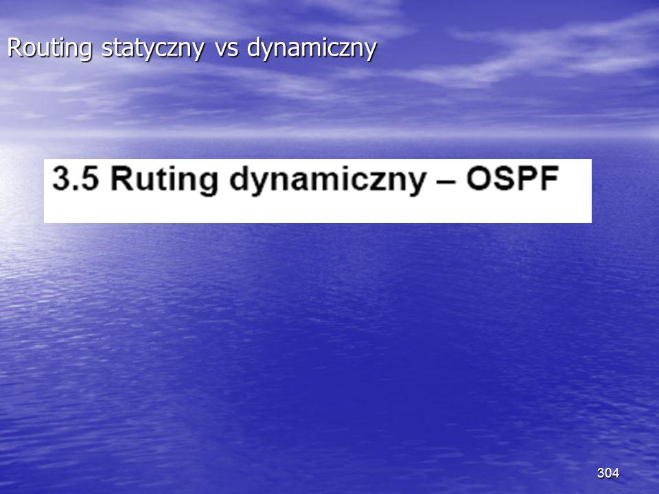 304 Routing statyczny vs dynamiczny