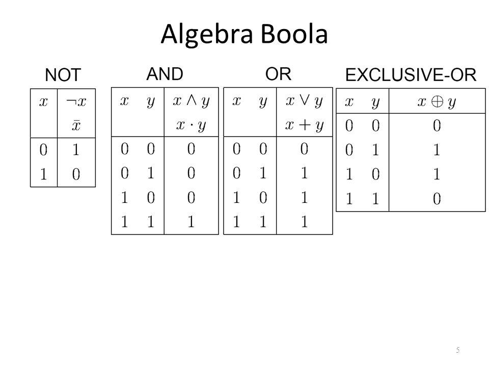 Algebra Boola 5