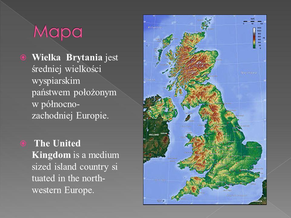 Wielka Brytania położona jest w strefie klimatu umiarkowanego morskiego z łagodzącym wpływem ciepłego Prądu Zatokowego.