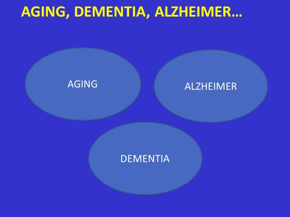 AGING ALZHEIMER DEMENTIA AGING, DEMENTIA, ALZHEIMER…