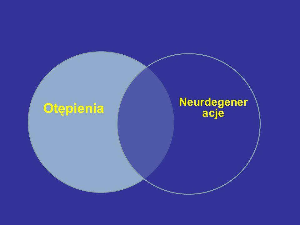 Otępienia Neurdegener acje