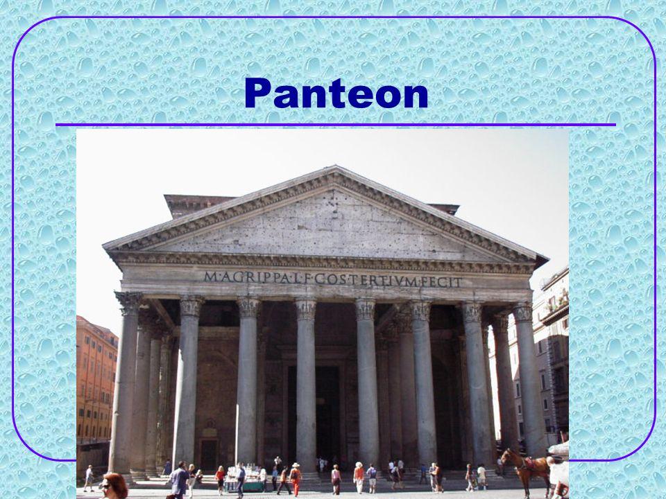 Panteon znajdujący się w centrum miasta jest jednym z najlepiej zachowanych zabytków starożytnych na świecie.
