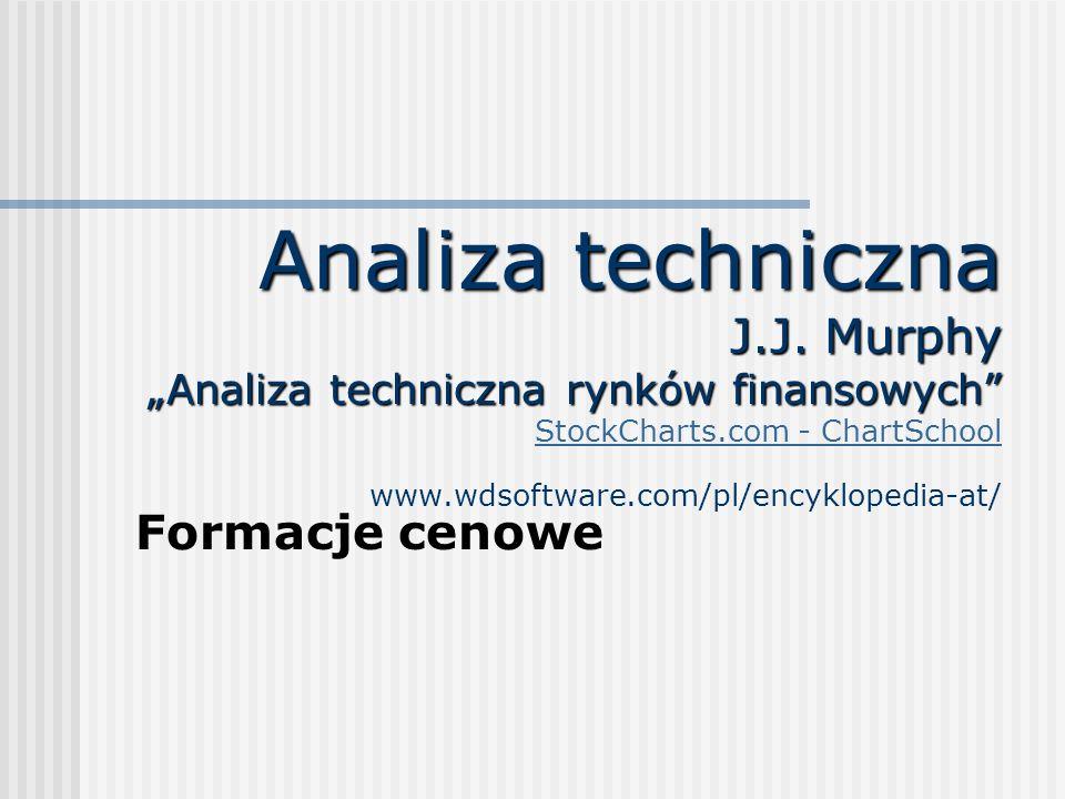 Analiza techniczna J.J. Murphy Analiza techniczna rynków finansowych Analiza techniczna J.J. Murphy Analiza techniczna rynków finansowych StockCharts.
