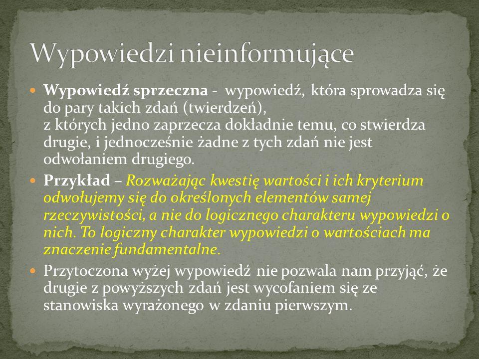 Tego rodzaju błędy, przejawiające się pod postaciami werbalizmu, dydaktyzmu i pleonazmu: a) poważnie utrudniają przekazywanie informacji; b) obniżają estetykę wypowiedzi; c) popełniane są bardzo często.