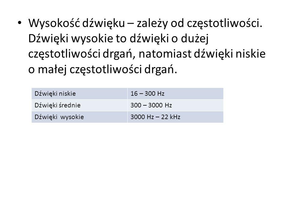 Rozdzielczość bitowa – oznacza dokładność reprezentowania próbki w postaci liczbowej.