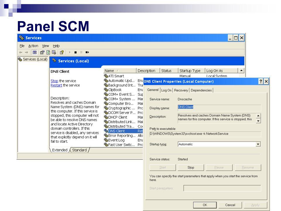 Panel SCM