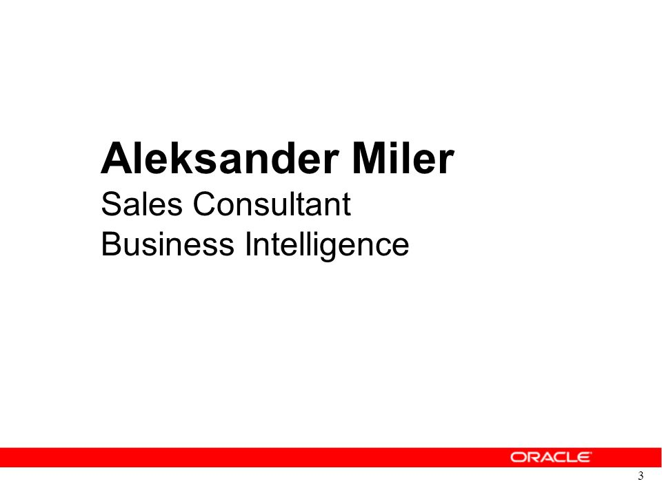 3 Aleksander Miler Sales Consultant Business Intelligence