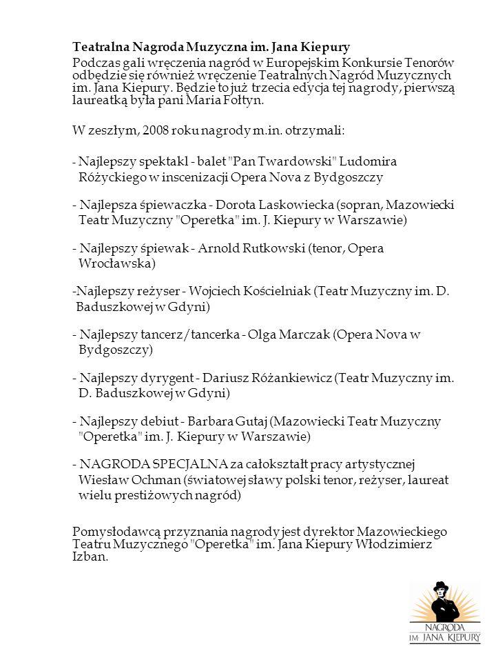 NAJLEPSZY CHOREOGRAF JAROSŁAW ŚWITAŁA Ukończył Państwową Szkołę Baletową im.