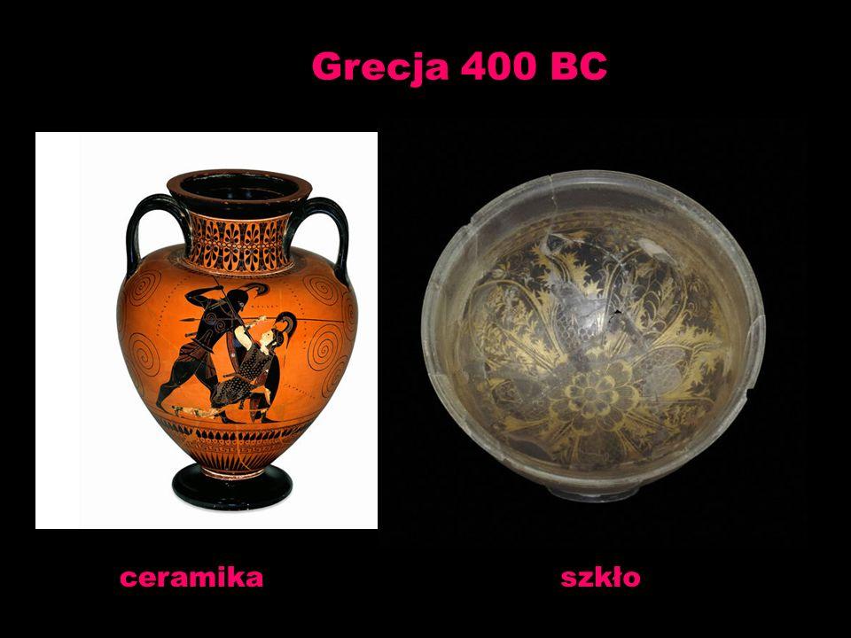 Grecja 400 BC ceramikaszkło