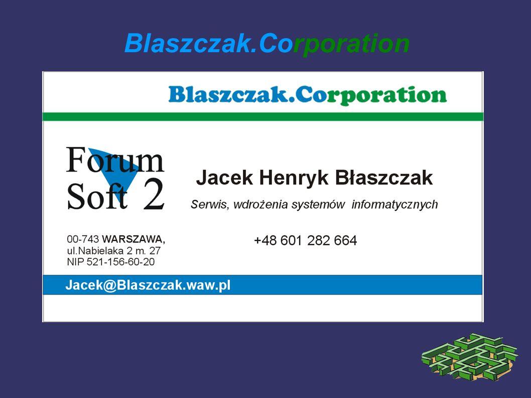 Blaszczak.Corporation