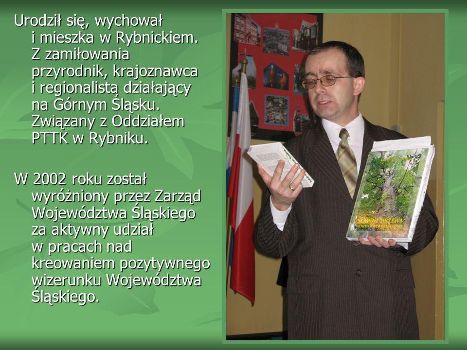 Jest Autorem ponad 100 artykułów w prasie lokalnej i czasopismach ekologicznych, biologicznych: Nowiny, Przyroda Polska, Przyroda Górnego Śląska… na temat walorów turystycznych i przyrodniczych Górnego Śląska.