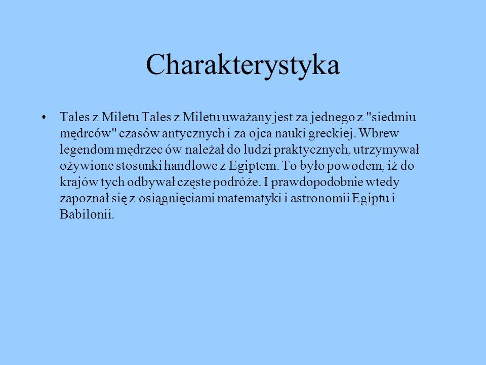 TALES Z MILETU Maria Usarz kl. I a Justyna Helizanowicz kl. III a