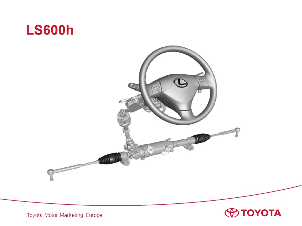 Toyota Motor Marketing Europe LS600h