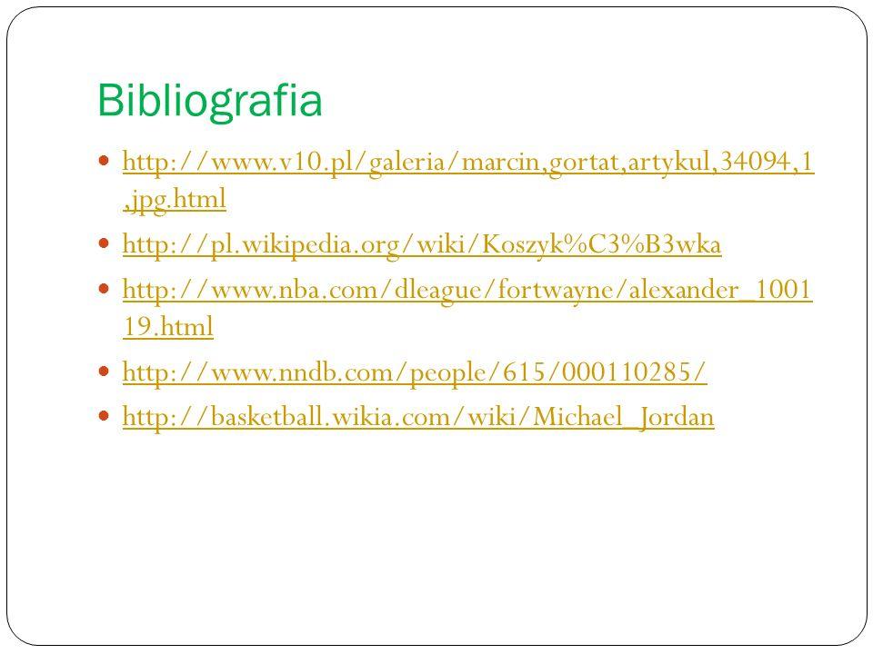 Bibliografia http://www.v10.pl/galeria/marcin,gortat,artykul,34094,1,jpg.html http://www.v10.pl/galeria/marcin,gortat,artykul,34094,1,jpg.html http://