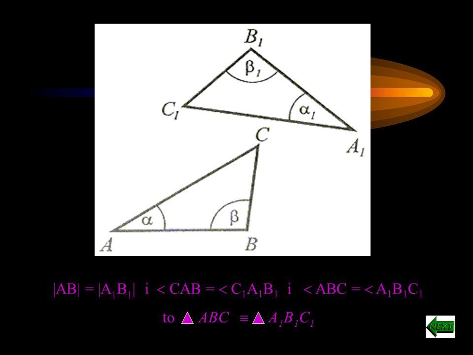 Cechy przystawania trójkątów prostokątnych I cecha Przyprostokątne jednego trójkąta są odpowiednio równe (przystające) przyprostokątnym drugiego trójkąta.