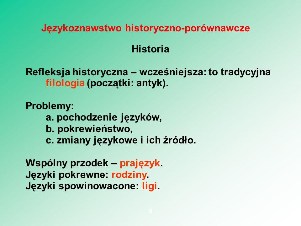 Języki fleksyjne (wyrazowe): polski, sanskryt, grecki Lubię chłopczyków.
