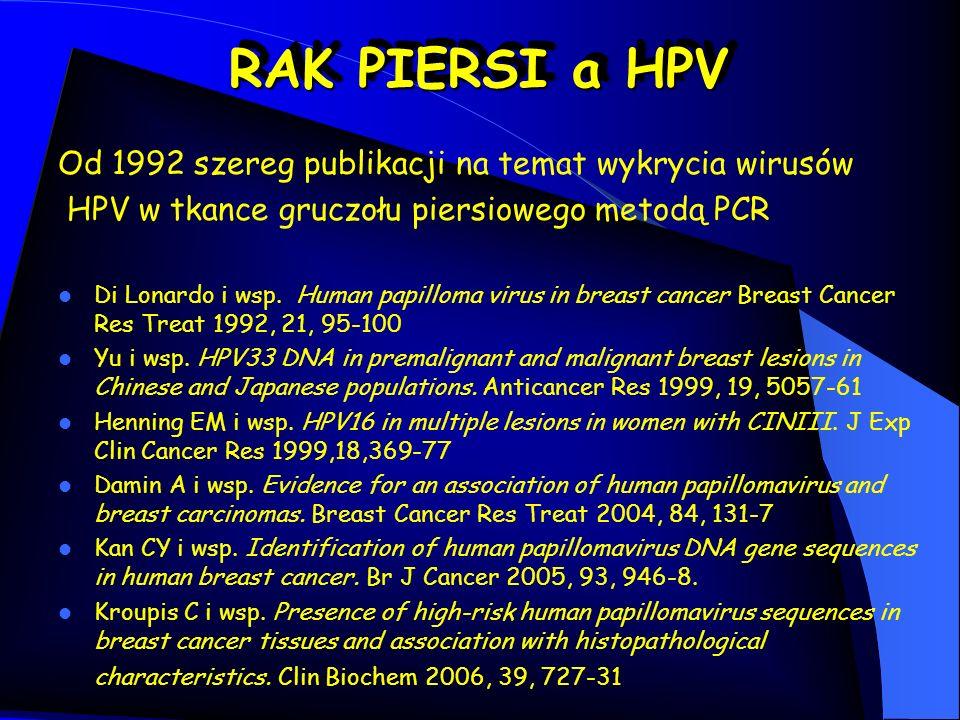 Di Lonardo i wsp.Human papilloma virus in breast cancer.