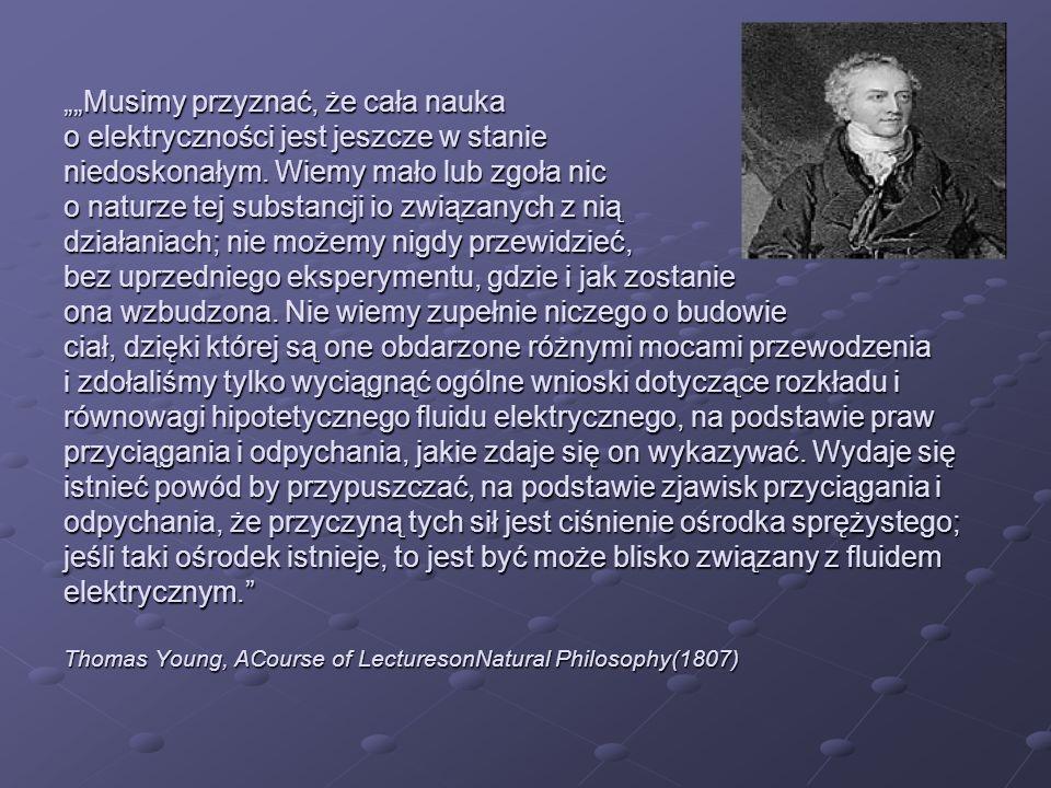 James Clerk Maxwell o pracach Ampère Badania doświadczalne, na których podstawie Ampère ustalił prawa działania mechanicznego między prądami elektrycznymi, stanowią jedno z najświetniejszych osiągnięć w nauce.