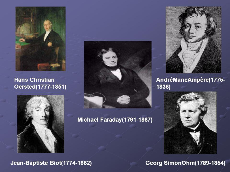 JosephHenry(1797- 1878) Simeon Denis Poisson(1781-1840) Carl FriedrichGauss(1777-1855)Wilhelm Eduard Weber(1804-1891) Franz Ernst Neumann(1798-1895)