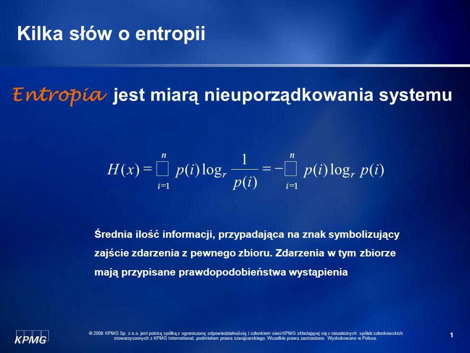 1 © 2006 KPMG Sp.z o.o.