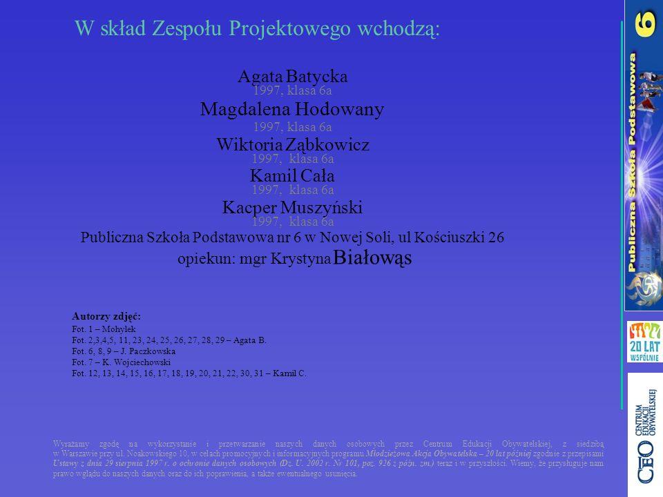 Wyrażamy zgodę na wykorzystanie i przetwarzanie naszych danych osobowych przez Centrum Edukacji Obywatelskiej, z siedzibą w Warszawie przy ul. Noakows