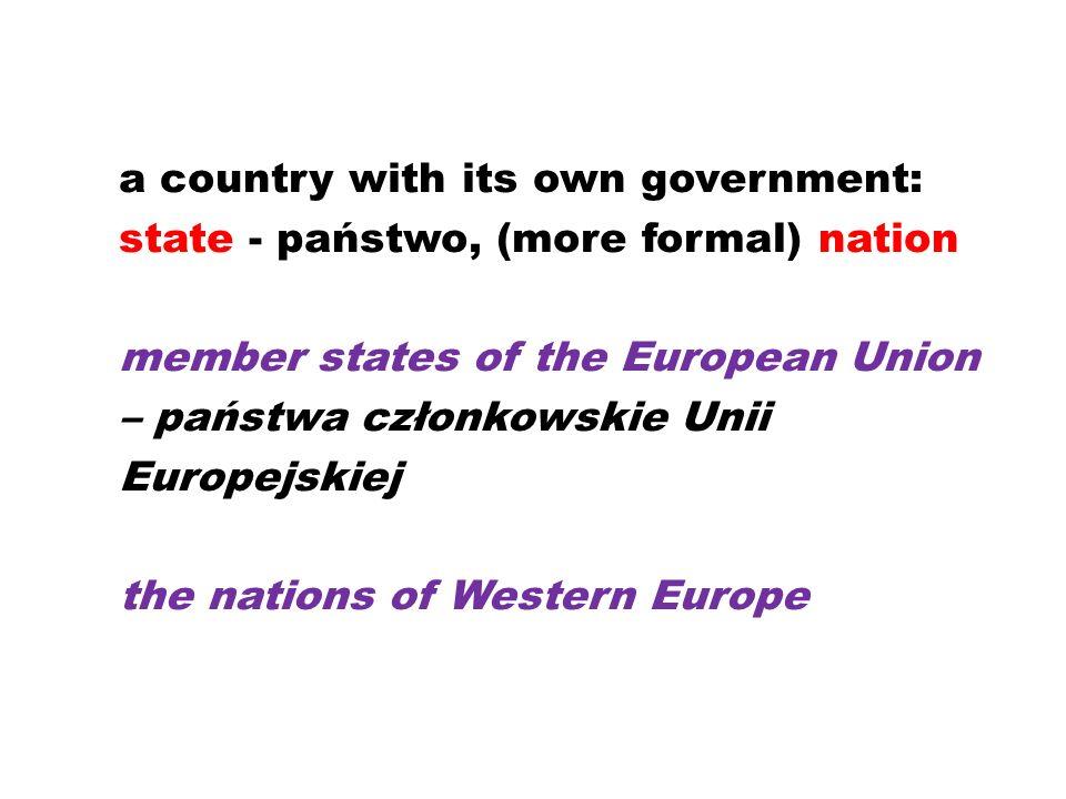 national – krajowy, narodowy a national newspaper nationwide – ogólnokrajowy, o krajowym zasięgu a nationwide campaign