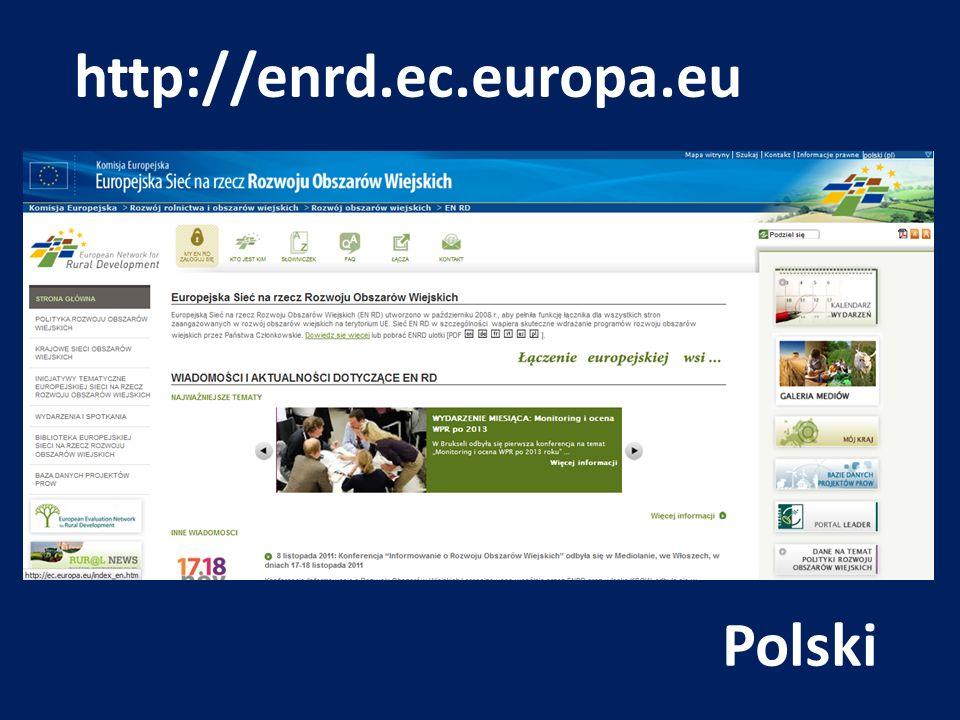 http://enrd.ec.europa.eu Polski