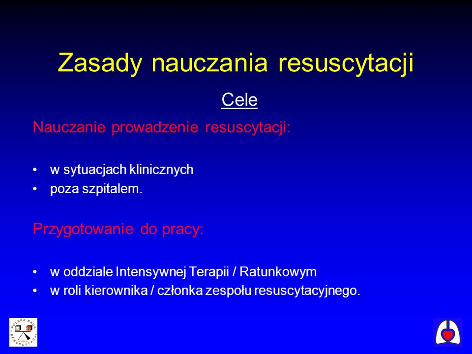 Rodzaje kursów European Pediatric Life Support Newborn Life Support Generic Instructor Course Educator Master Class