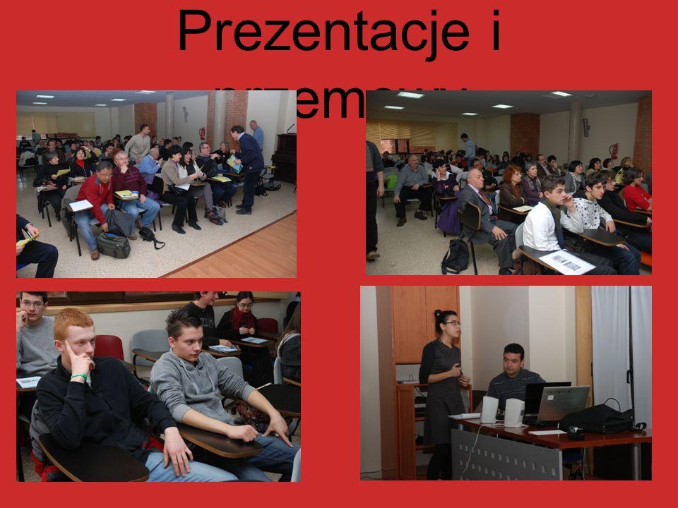 Prezentacje i przemowy