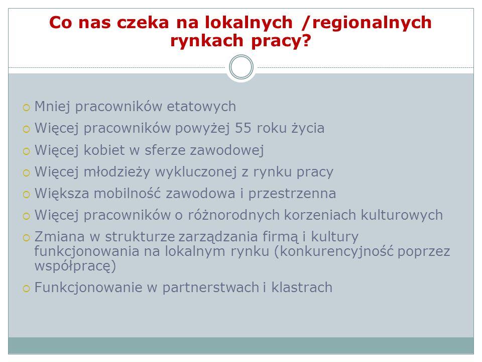 Co nas czeka na lokalnych /regionalnych rynkach pracy.