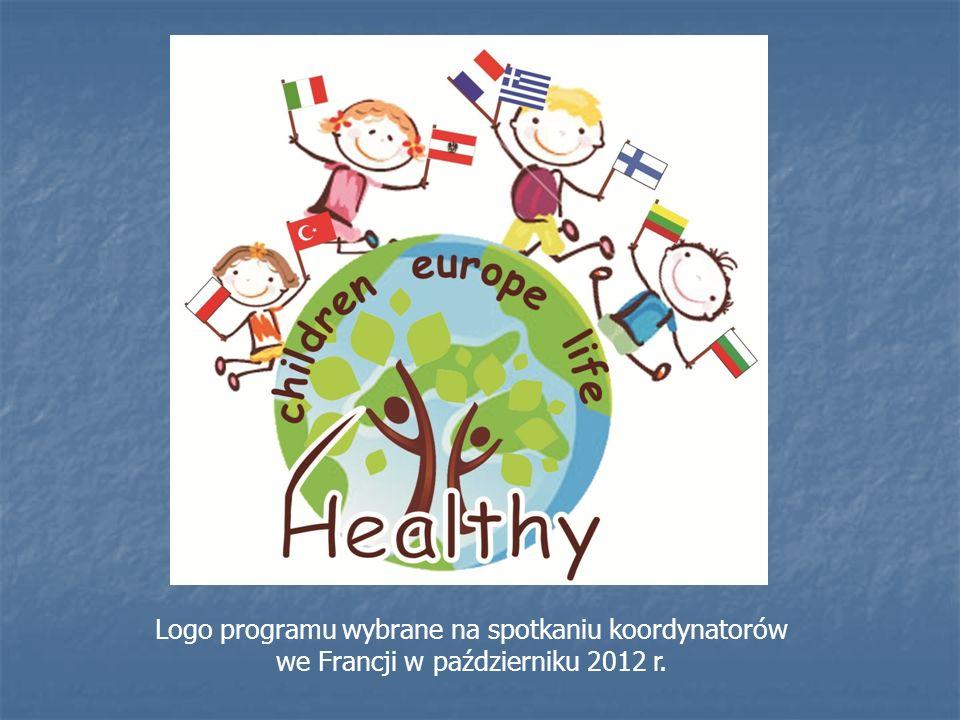 Logo programu wybrane na spotkaniu koordynatorów we Francji w październiku 2012 r.