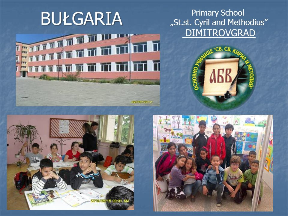 Primary School St.st. Cyril and Methodius DIMITROVGRADBUŁGARIA