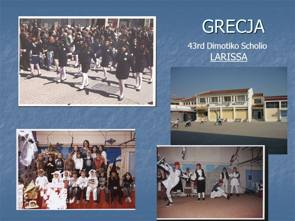 GRECJA 43rd Dimotiko Scholio LARISSA