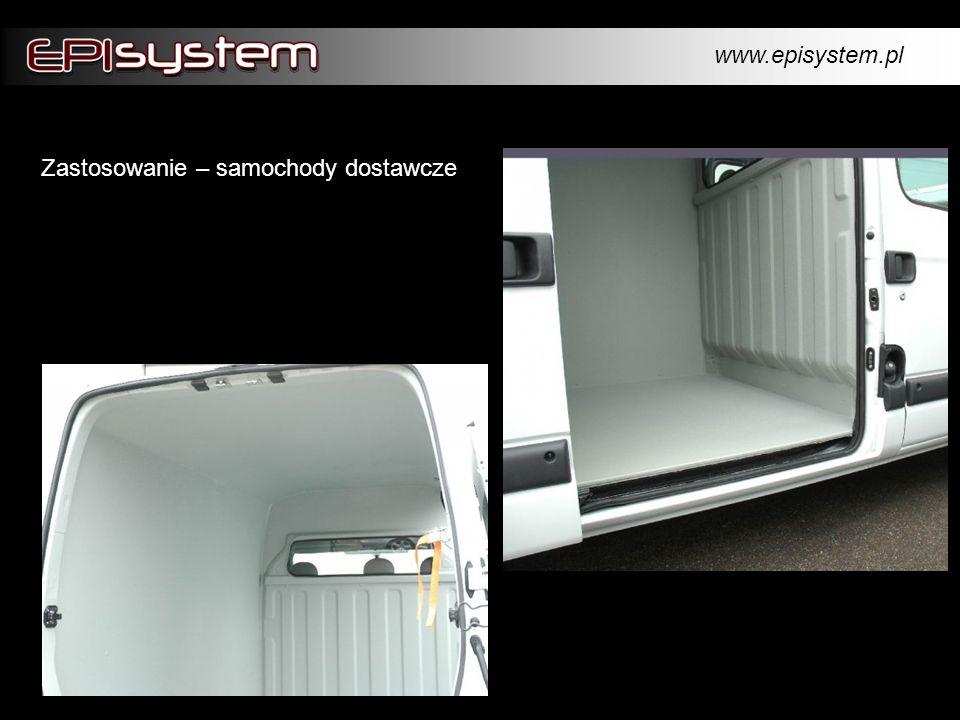 www.episystem.pl Zastosowanie – samochody dostawcze